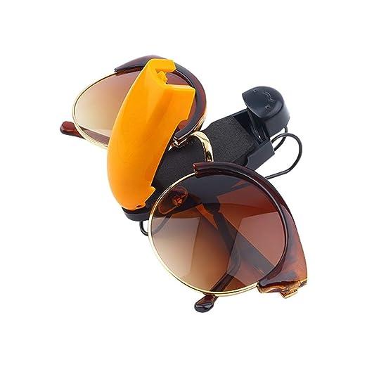 iTimo Auto Fastener ABS Car Vehicle Sun Visor Sunglasses Eyeglasses Glasses Holder Card Ticket Pen Clip Automotive Accessories