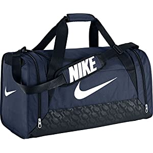 Nike Brasilia 6 Medium Duffel Bag, Navy