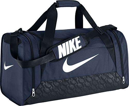 Nike- Brasilia 6 Medium Duffel Bag Midnight Navy/Black/White