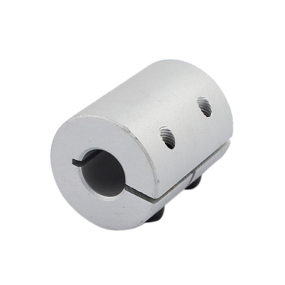 sourcing map Motorwelle 8mm zu 8mm Joint Helical Beam Koppler 20mm Durchmesser 25mm L/änge DE de