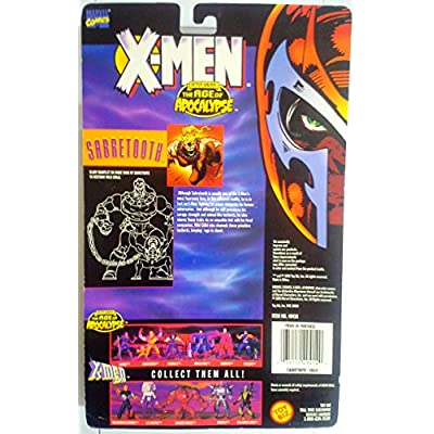 X-Men After Xavier: The Age of Apocolypse Sabretooth Action Figure: Toys & Games