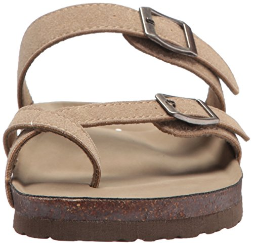 girl Women's Toe Ring Sandal madden Bryceee Fabric Taupe TBw5tq