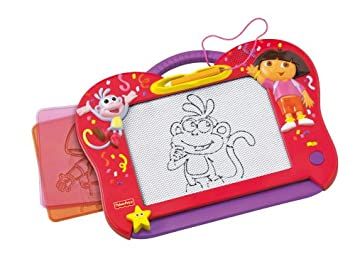 Fisher Price - Ardoise Magique - Magicréa Dora Electronique: Amazon ...