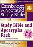 img - for NRSV Cambridge Annotated Study Apocrypha Hardback Shrink-Wrapped Pack NR340 book / textbook / text book