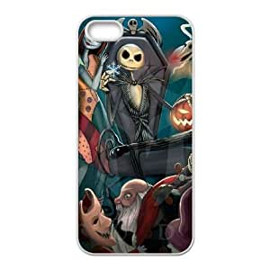 iPhone 5 5s White Cell Phone Case The Nightmare Before Christmas KVCZLW0905 Phone Cases Fashion Hard