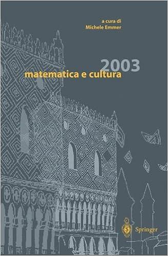 Book Matematica E Cultura 2003