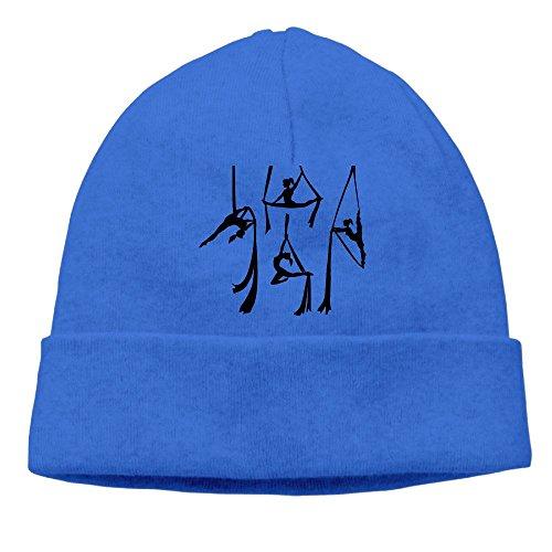 Aiggquhe I Fly Aerial Silks Funny Aerialist Unisex Men/Women Cool Fashion Hedging Hat Wool Beanies Cap HeadwearRoyalBlue
