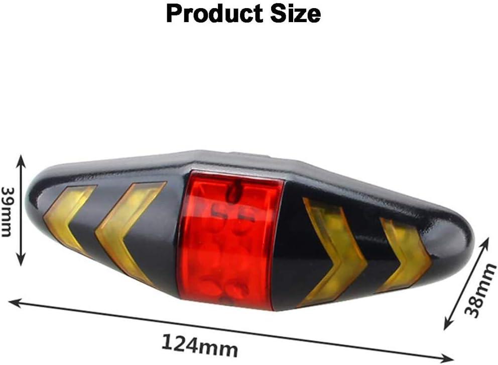 Romote Bike Tail USB Lumi/ère /Étanche Feu Arri/ère Intelligent Turn Signal Rc Feu Arri/ère V/élo Avertissement Lumi/ère Accessoires V/élo