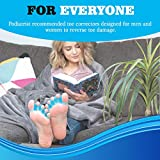 5 Pair Toe Separators for Overlapping Toes and