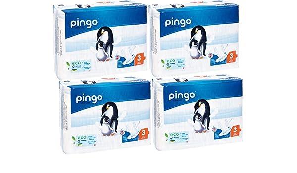 Couches jetables écologiques Taille 3 4-9 kg 44 Couches Multi Buy x4: Amazon.es: Bebé