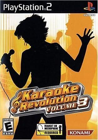 Amazon Com Karaoke Revolution Volume 3 Playstation 2 Artist Not Provided Video Games