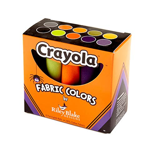 Riley Blake Designs Crayola Solids Fat Eighths Box