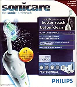 Sonicare Elite Professional 7800 Toothbrush