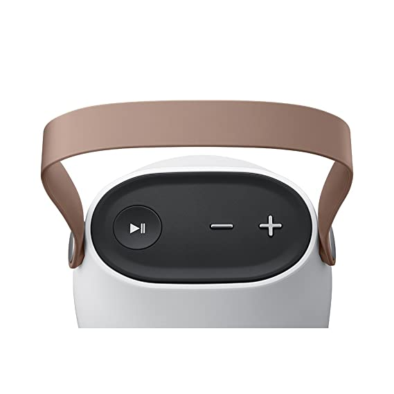 Samsung Sound Bottle - Altavoz portátil inalámbrico Bluetooth, Color Blanco y marrón- Versión Extranjera: Amazon.es: Electrónica