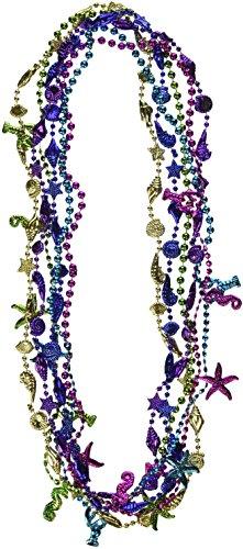 Beistle 50833 6-Pack Luau Beads, 32-Inch