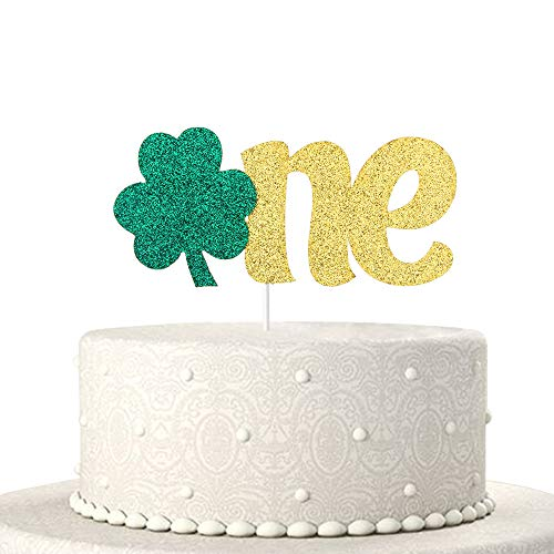 One Cake Topper - Baby 1st Birthday Cake Toppers - Baby Shower/1th Birthday Party/I