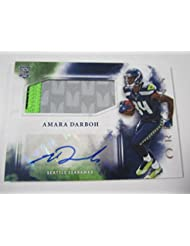 2017 Panini Origins Amara Darboh Rookie Autographed Patch Card Seattle Seahawks - Panini Certified - Football Slabbed Autographed Rookie Cards