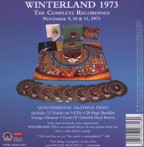Winterland 1973: The Complete Recordings by Rhino Records