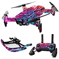 MightySkins Skin for DJI Mavic Air Drone - Paint Party | Max Combo Protective, Durable, and Unique Vinyl Decal wrap cover | Easy To Apply, Remove, and Change Styles | Made in the USA