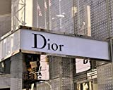 Dior Wall Art, Dior Store Sign Art Print, Fashion Wall Art, New York City Fashion Photography, Fashion Wall Decor, Dorm Wall Art, Girls Room Print, Bathroom Wall Decor, Bedroom Artwork