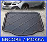 Auto Accessories Rear Trunk Tray Boot Liner Cargo Floor Mat Cover Protector Carpet Fit For 2013 2014 Buick Encore/ Opel Vauxhall Mokka