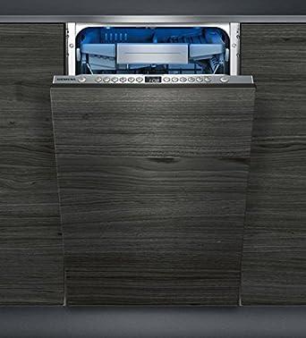 Siemens SR656D00TE Stainless Steel Einbau Geschirrspüler, Vollintegrierbar,  45 Cm, A++, 10 Maßgedecke: Amazon.co.uk: Large Appliances