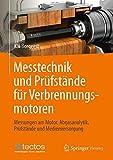 Messtechnik und Prüfstände für Verbrennungsmotoren: Messungen am Motor, Abgasanalytik, Prüfstände und Medienversorgung