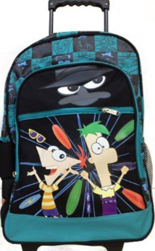 Phineas and Ferb Large Rolling BackPack