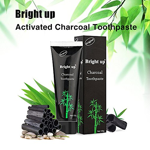 Holisouse Teeth Whitening - Activated Charcoal Toothpaste Teeth Stains&Smoke Stains Remover Clean Bright Teeth and Keep Fresh (1 PACK)