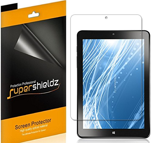 Supershieldz (3 Pack) for Insignia 8 inch Flex Tablet (NS-P08A7100) Screen Protector, Anti Glare and Anti Fingerprint (Matte) Shield