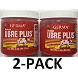 Germa Manteca Ubre Plus Roja/Red with Tea Tree Oil 3 oz. Jar 2