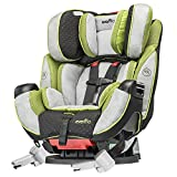 Evenflo Symphony 65 Dlx Porter Car Seat, Grey/Black/Green