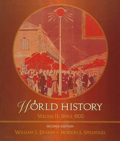 duiker and spielvogel on cultural integration and the human civilization World history: the human odyssey dec 1, 1999 by jackson j spielvogel hardcover  by william j duiker and jackson j spielvogel paperback $2745 $ 27 45 to.