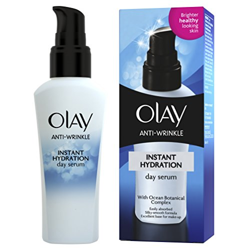 - Olay Anti-Wrinkle Instant Hydration Anti-Ageing Serum (ages 30+) 50ml