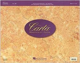 :TOP: Carta Manuscript Paper No. 25 - Professional. meets Import Italy genoegen Rhode