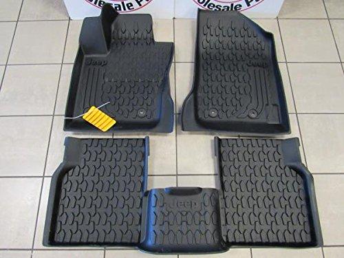 Mopar JEEP COMPASS All Season Slush Weather Floor Mat Kit NEW OEM - Mopar Jeep Compass