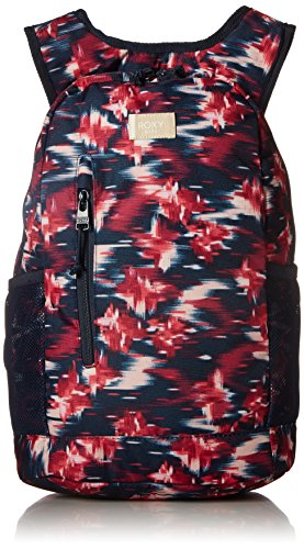 Roxy Girls' Big Traveling Mind Backpack, dress blues neon waterfall, One Size (Backpack Laptop Roxy)