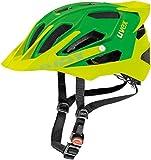 Uvex Quatro Pro Mpuntain Bike Helmet Matte Green/Lemon S/M (52-57cm)