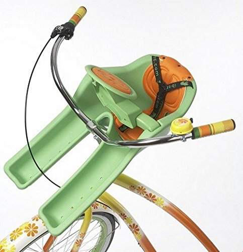 iBert Child Bicycle Safe-T-Seat, Green (Copilot Bike Seat)