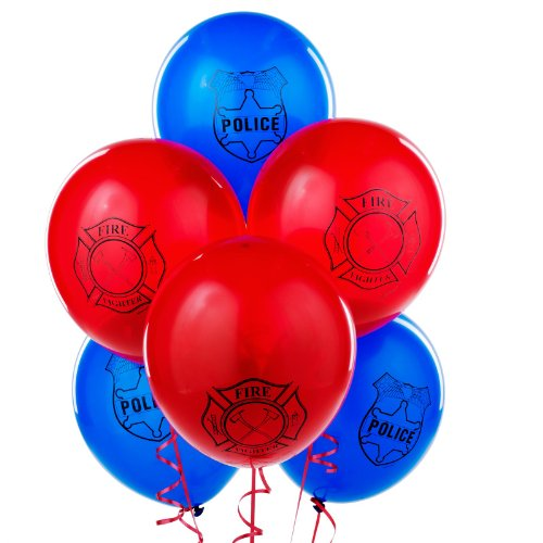 LEGO City Printed Latex Balloons Party Accessory /6pack (Balloons Party City)