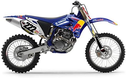 Azul Bull MX Motocross Kit DE Decal para Yamaha YZ 250F 450F 2003-2005