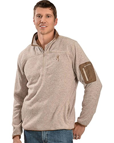 Browning Men's Laredo Sweater, Oatmeal, X-Large