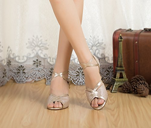 Miyoopark - salón mujer Champagne-7cm Heel