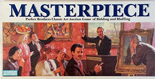 Masterpiece 1987 Art Auction Game product image