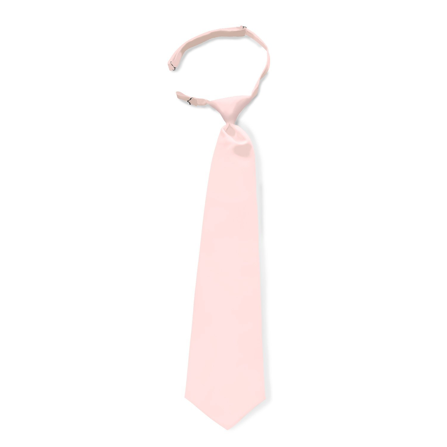 Satin Solid Color Pre-tied Neck Ties