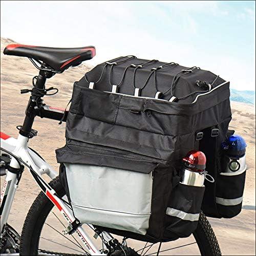 Alforja de maletero de bicicleta, gran capacidad Alineada de ...