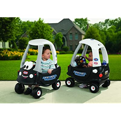 Little Tikes Cozy Coupe Tikes Patrol, Ride-On, Patrol Coupe: Toys & Games