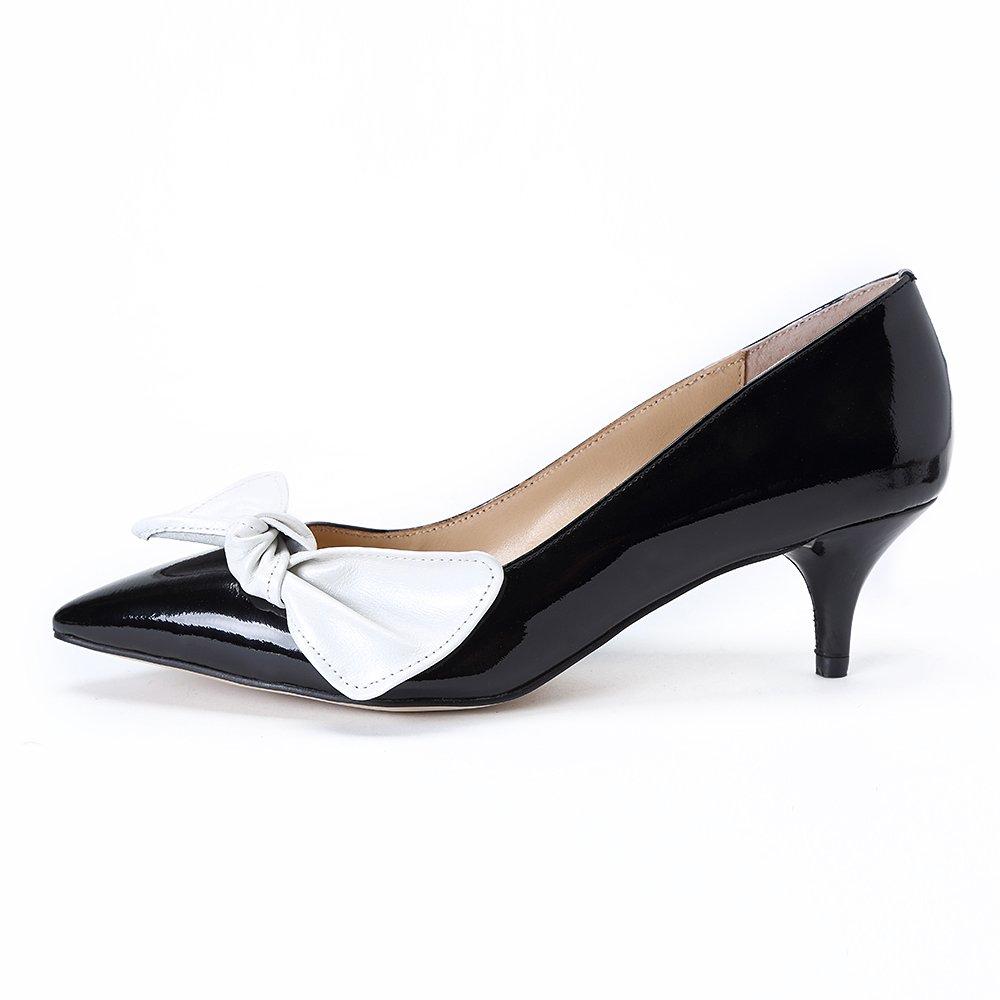 Darco Gianni Mujer Zapatos De Clásicos Kitten Aguja Tacón Punta Cerrada Bajo Medio Fiesta Oficina Boda Shoes 37 EU