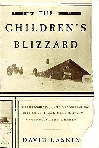 Amazon fr - The Children's Blizzard - David Laskin - Livres