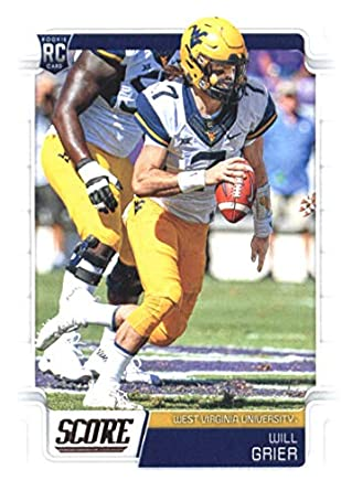 huge selection of 5dcc7 75f76 Amazon.com: 2019 Score #333 Will Grier West Virginia ...